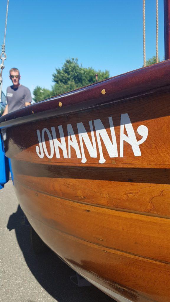 Schildermaler Boot Name vorne – Kopf Ahoi